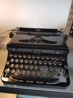 royal model 0 typewriter