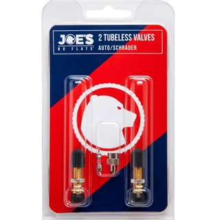 🆕! Joe's No Flats Tubeless Schrader Valve Kit  #OK