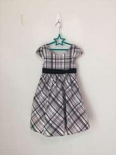 🚚 美國童裝格子小禮服