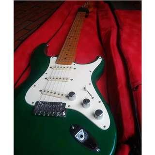 Dean Zelinsky Tagliare Z-Glide ori bukan Ibanez Squier Fender Epiphone