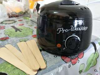 Instock Black wax warmer