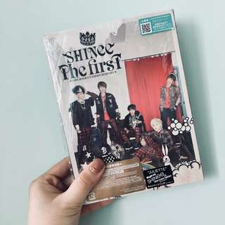 SHINee 日本 the first 專輯