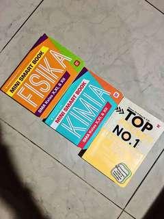 Paket : Pocket Book SMA Fis,Kim,Mat