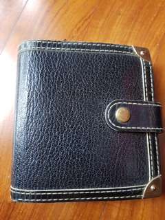 Louis Vuitton Black Suhali Leather Wallet