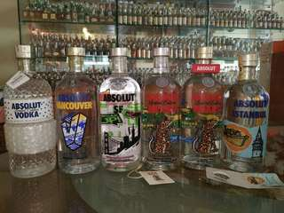 Absolut Vodka Limited Edition Collection