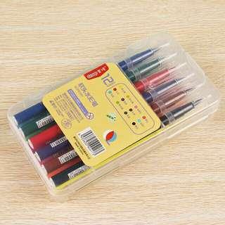 Brush Pen Set (12 pcs)