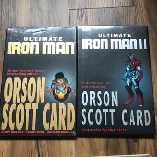 Ultimate Iron Man Complete HC 1-2