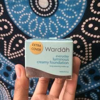 Wardah everyday lominous creamy foundation (02 light beige) MASIH BANYAK BGT ISINYA JARANG DIPAKAI