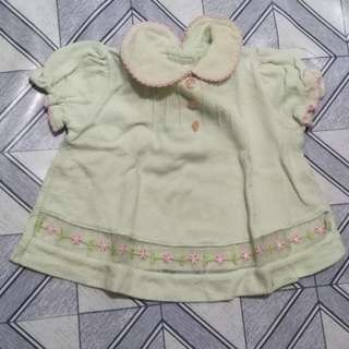 Baby girl polo blouse