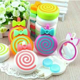 Travel Kit Kotak Softlens Lolipop