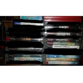 For Sale PS3/PsVita Games in Mint-Condition