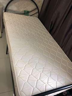 Coconut fibre single mattress