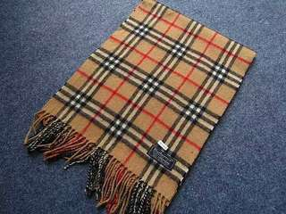 Burberry scarf sold