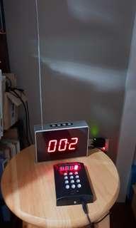 Queue number system