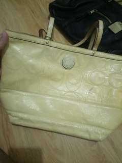 Original Coach Handbag (Patent Leather)