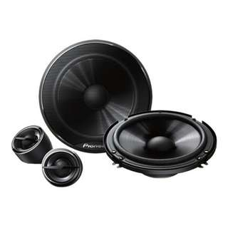 PIONEER TS-G1605C 6.5INCH 16CM COMPONENT SPEAKERS 280W MAX