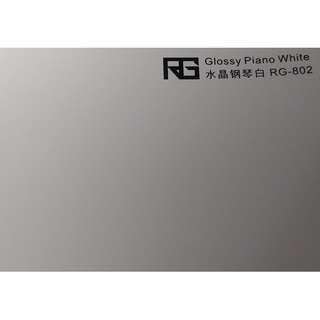 🚚 RG 專業車膜改色保護 水晶鋼琴白100CM*152CM