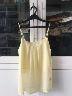 Preloved Yellow Top