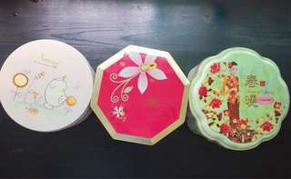Cookie containers x3