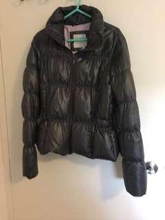 Puffy jacket coat