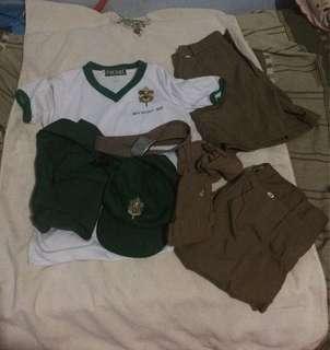 Bundle Boy scout Complete set