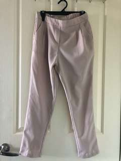 Nude/pink trousers