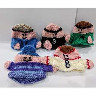 Handmade Knitted Toys - 5pcs for $6!