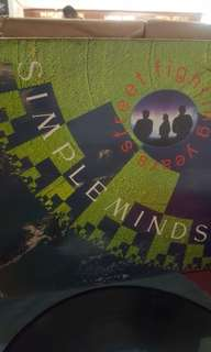 Simple Minds - Street fighting years - LP Record