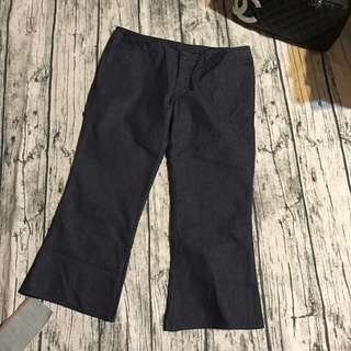 🚚 全新愛德恩女5th STREET牛仔七分褲,原價$1690,L號,平量:腰*臀*長cm:37,46,75,褲檔長20cm,薄款夏天穿著