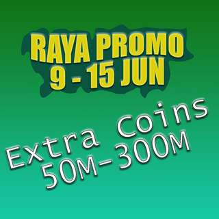 8 Ball Pool Coins - RAYA SALE