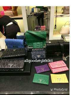 💛SALE💚Prada Bag /wallet/cardholder(Authentic)