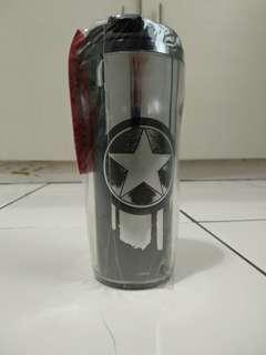 Botol Minum Marvel Avengers Captain America Iron Man