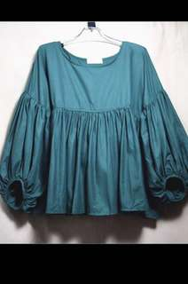 Plus size Puffy sleeve top