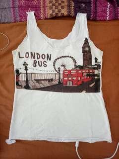 London Bus tank top