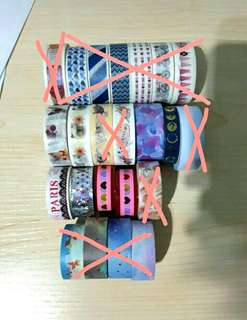 SALE!! Washi Tapes