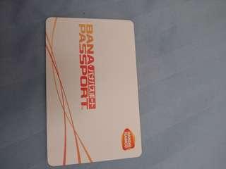 bana passport card