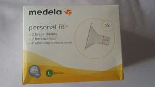 Medela Breast Shields size L (27mm)