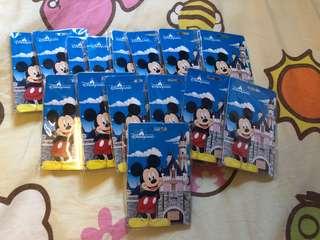 正版迪士尼吊牌 名牌 書包牌 行李牌 大特價