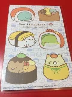 San-X 角落生物sushi 造型版彩色便條本(內有5款)