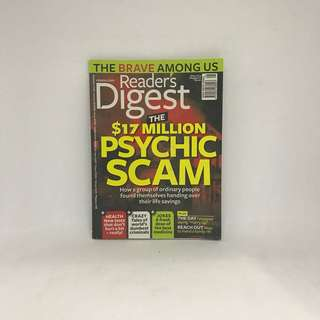 $17 Million Psychic Scam | Readers Digest | May 2014