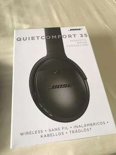 Bose QC35 quiet comfort