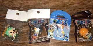 New One Piece keychain 100 each from Japan
