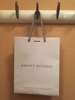 Harvey Nichols paper bag 原裝名牌紙袋 Gift bag 22 x 28 x 12cm