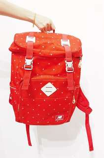 New Balance Red Color Backpack