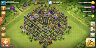 Clash Of Clans Account #th9