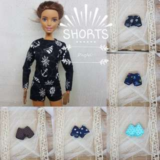 Barbie Shorts June 2018 Collection