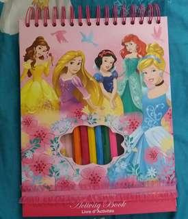 超值迪士尼公主Activity Book