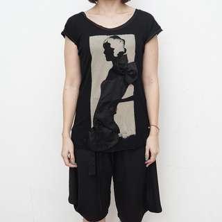 MANGO Jeans - Black Loose Tank - Size S