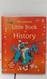 Usborne little book of history nt horrible history science book
