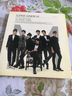 Super Junior M - First Mini Album Super Girl